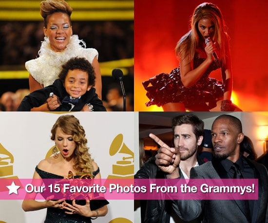 Slideshow of Photos of 2010 Grammy Awards with Rihanna, Jay-Z, Taylor Swift, Carrie Underwood, Fergie, Katy Perry