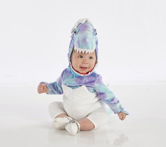 Baby Blue Dinosaur Egg Costume