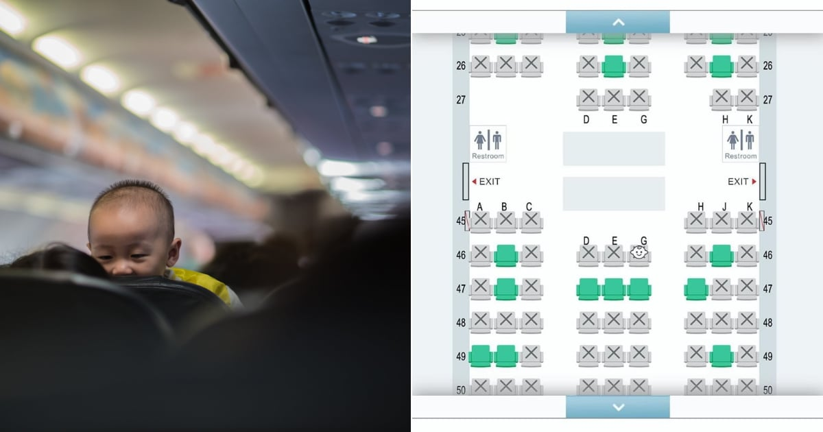 An Airline Now Alerts Passengers to Where Babies Are on a Seat Map — and It's Flat-Out Wrong