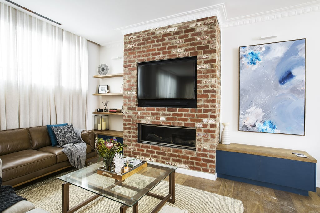 The block 2016 living and dining room photos popsugar for Living room channel 7