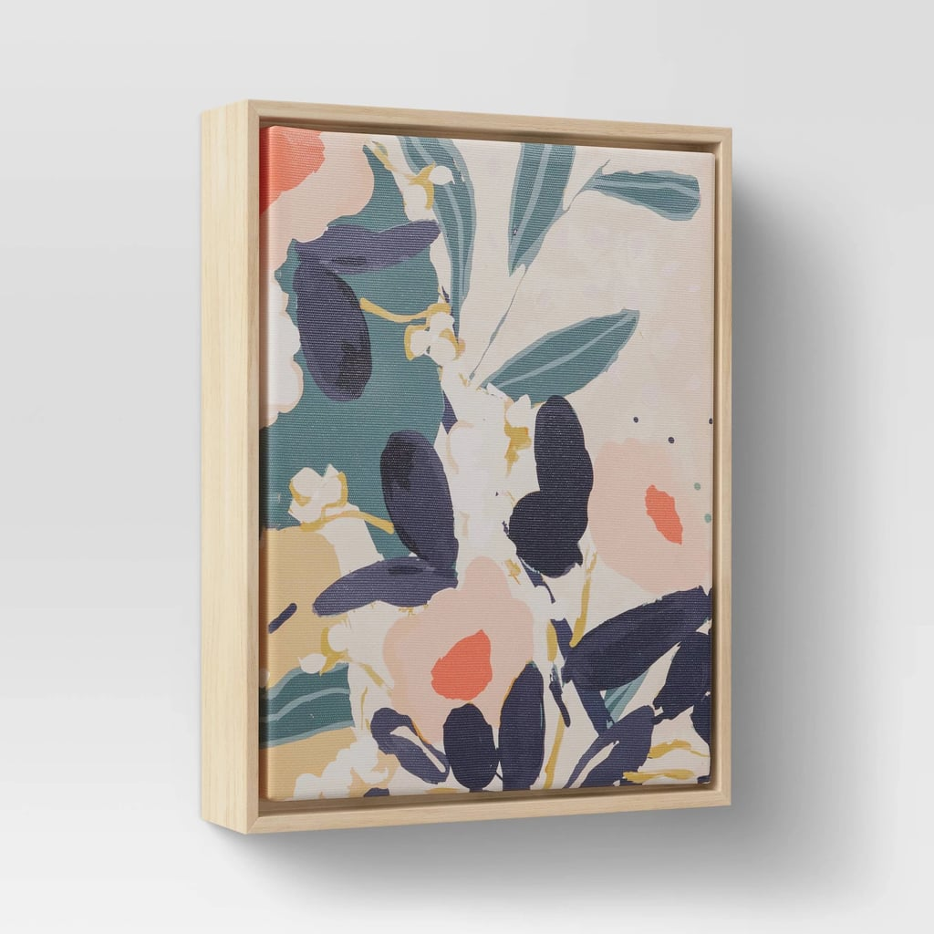 Floral Framed Wall Canvas