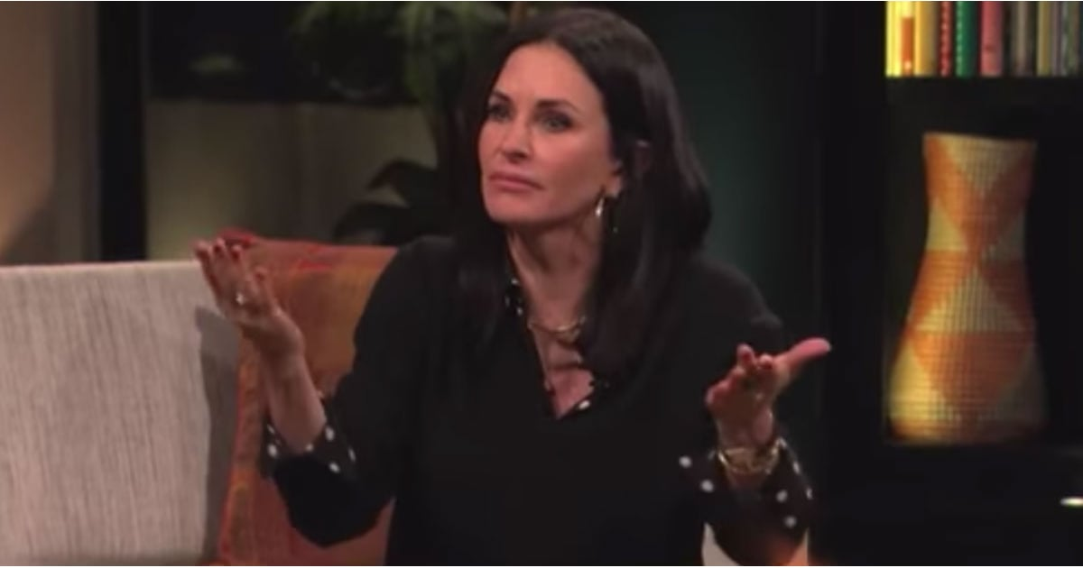 Lisa Kudrow And Courteney Cox Playing Friends Trivia Video  Popsugar Entertainment-3654