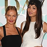 Lara Bingle and Jessica Gomes, Caulfield Cup 2012