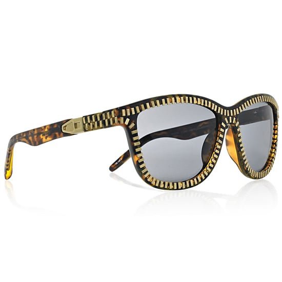 Alexander Wang Zip Detail Sunglasses, $390