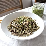 Asian Pesto With Soba Noodles