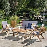 Christopher Knight Home Manarola 4-Piece Outdoor Set