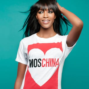 Naomi Campbell's T-Shirts For Fashion For Relief on Yoox