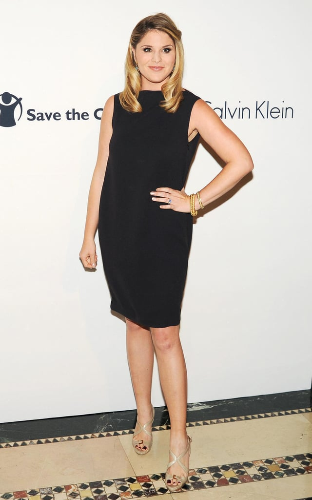 Jenna Bush Hager made an appearance at the Save the Children benefit gala in NYC.
