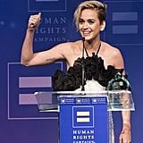 Katy Perry at Human Rights Campaign Gala in LA