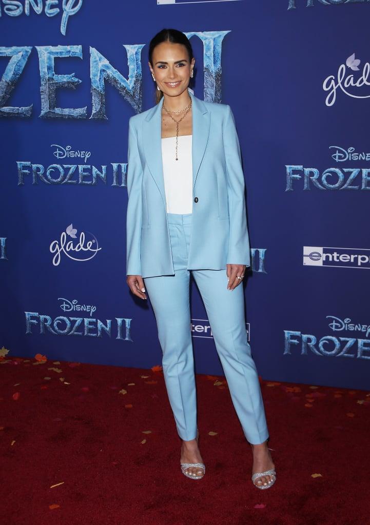 Jordana Brewster at the Frozen 2 Premiere in Los Angeles