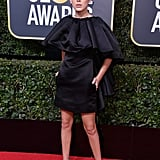 Millie Bobby Brown at the Golden Globes in 2018