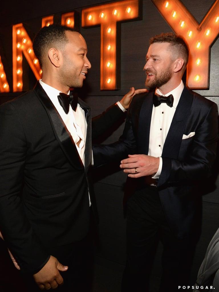 Pictured: Justin Timberlake and John Legend