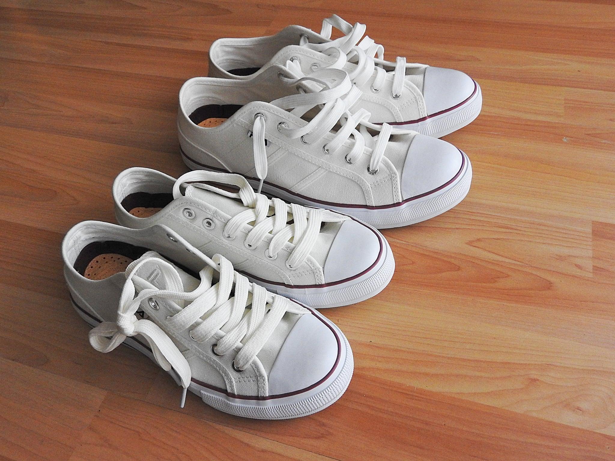How to Keep Kids' White Shoes White