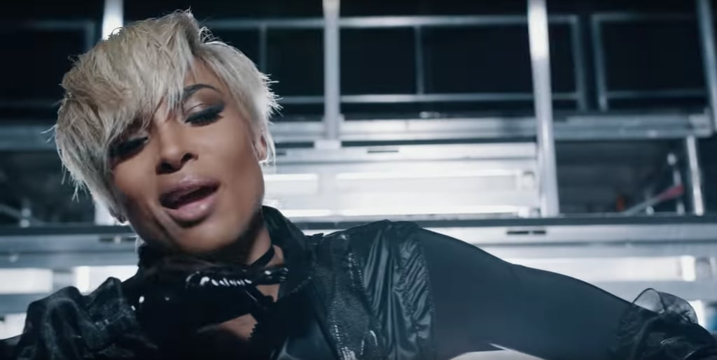 "Ciara's Short Blond Hair in ""Set"" Music Video"