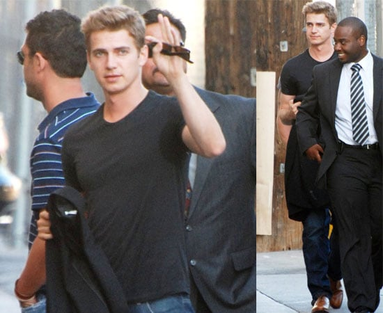 Pictures of Takers Star Hayden Christensen in LA