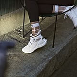 Selena Gomez's Phenom Lux Puma Sneaker and Socks