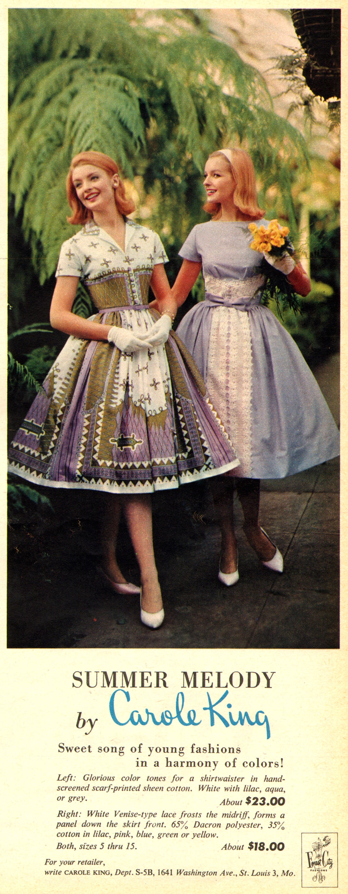 """Wear a dress this Summer with a """"harmony of colors."""""""