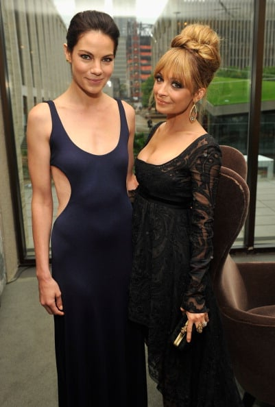 Nicole Richie and Michelle Monaghan got together at the 40th annual FiFi Awards in May.