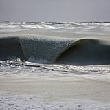 Frozen Waves in Nantucket, MA | Pictures