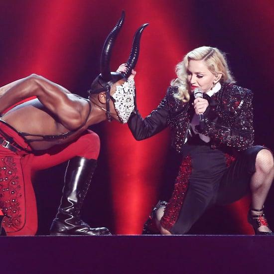 Madonna Talks About Her Brit Awards Performance
