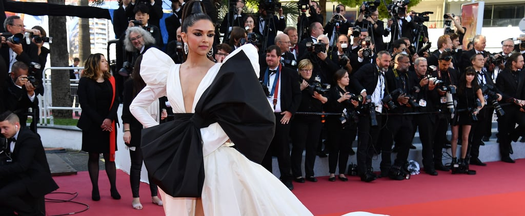 Deepika Padukone White Dress at Cannes 2019