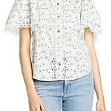La Vie Rebecca Taylor Poppy Fields Blouse