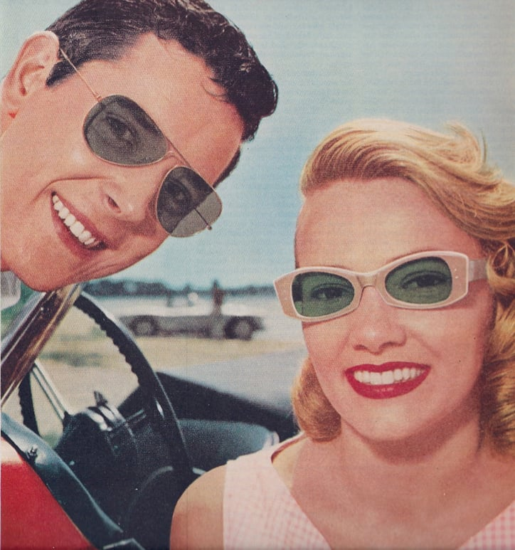This vintage Ray-Ban ad is still in style.