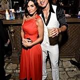 Mario Lopez and Courtney Mazza as Tony Manero and Stephanie Mangano From Saturday Night Fever