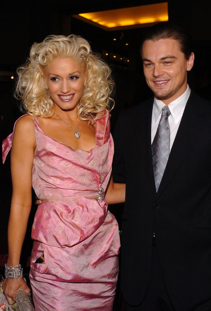Leonardo DiCaprio and his The Aviator costar Gwen Stefani were all smiles at the movie's premiere in 2004.