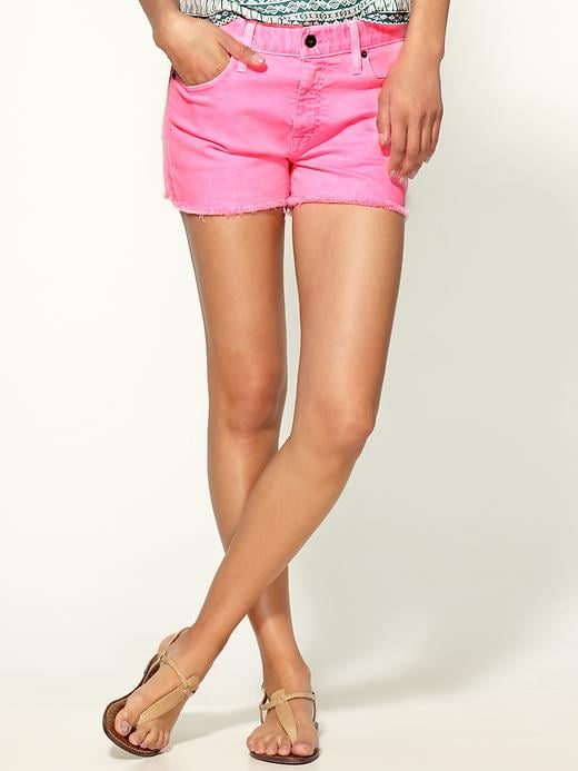 """""""Normally, I would never go for bright pink anything, but how can I resist these Pepto-hued shorts? They're eye-catching without being too loud, and with the addition of a semisheer white t-shirt, these shorts will make a casual outfit pop."""" — Marisa Tom, associate editor  Big Star Joey Shorts ($69)"""