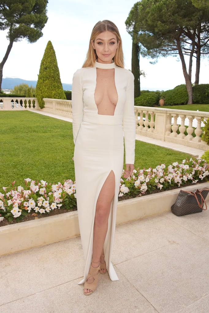 Gigi Hadid's cleavage-baring Tom Ford gown turned heads in 2015.