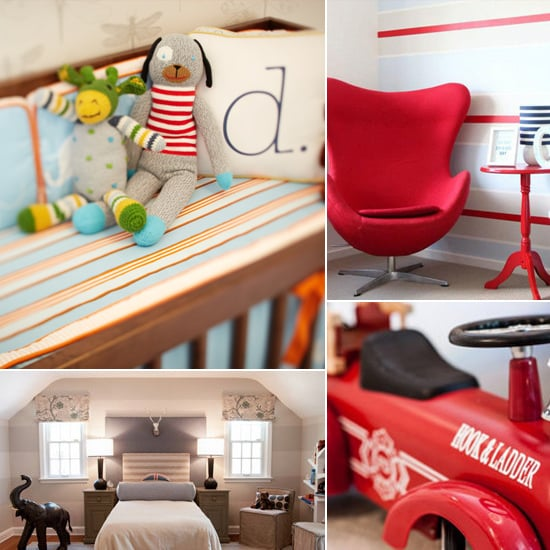 Boys Rooms and Nurseries Ideas