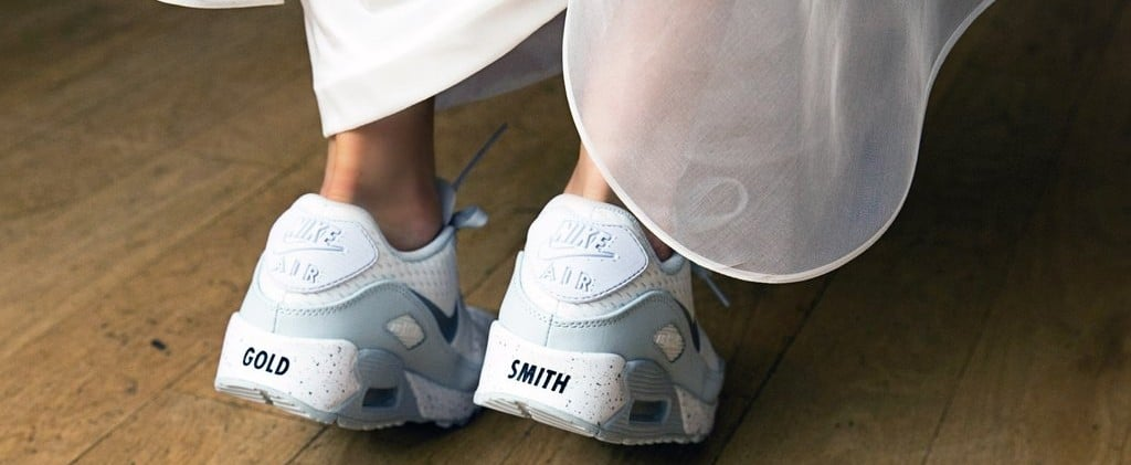 20 Cute Sneakers You Can Wear Under Your Wedding Dress