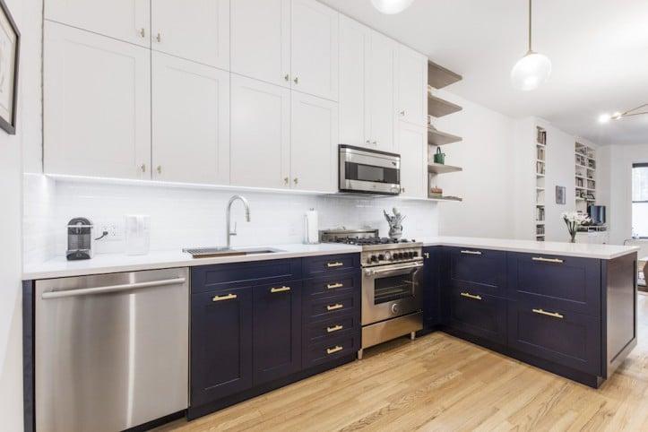 Blue Kitchens Best Kitchen Designs 2019 Popsugar Home Photo 6