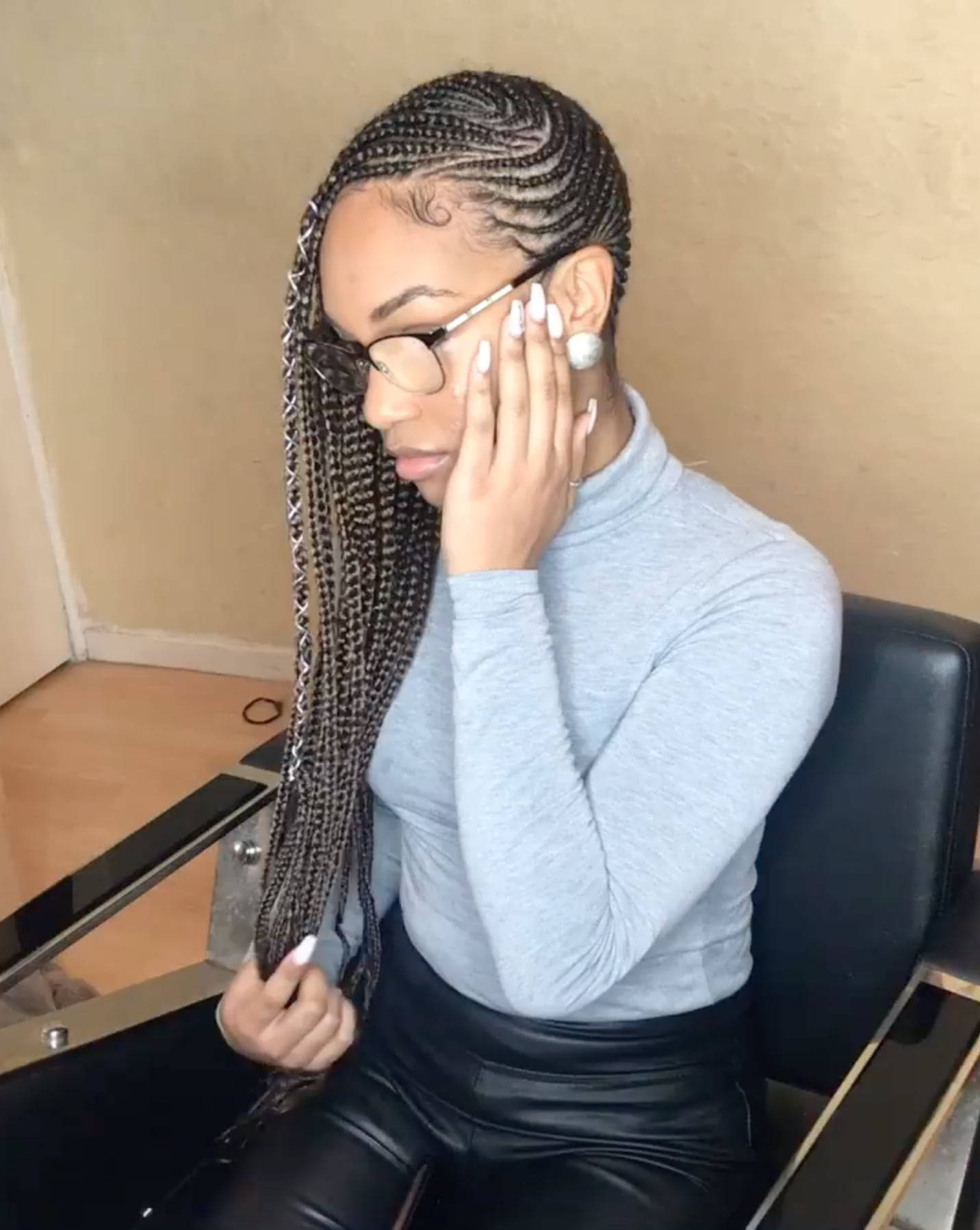 Best Black Braided Hairstyle Trends From London Popsugar Beauty