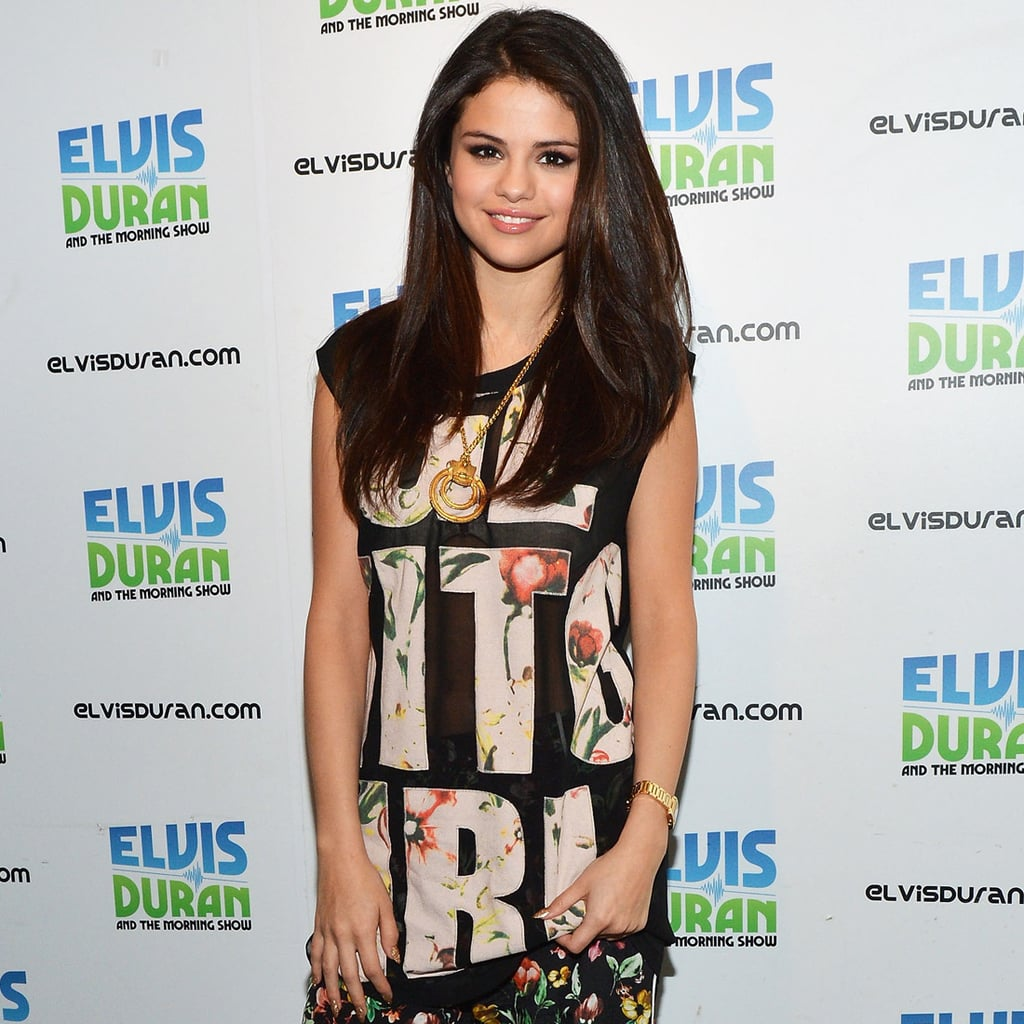 Selena Gomez Wearing Floral Pants   Pictures and Shopping