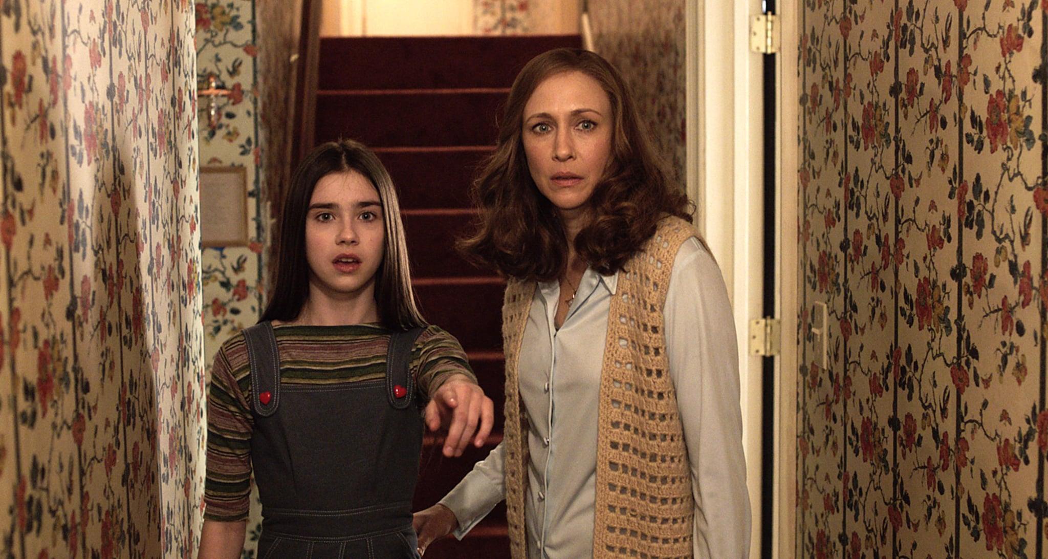 THE CONJURING 2, Vera Farmiga (right), 2016.  New Line Cinema / courtesy Everett Collection