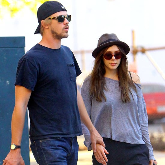 Elizabeth Olsen and New Boyfriend Holding Hands | Pictures