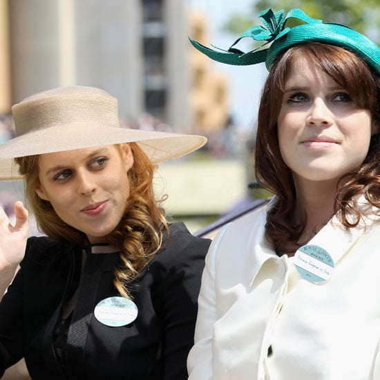 Photos des princesses Beatrice et Eugenie a Royal Ascot