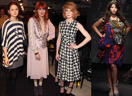 Photos from Anglomania Fashion Show With Bonnie Wright, Daisy Lowe, Nicola Roberts, Florence Welch, Little Boots
