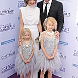 Eric Dane and His Family at Chrysalis Butterfly Ball 2017