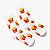 Golden Arches Unlimited World Famous Fries Pattern Socks