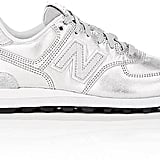 New Balance Women's 574 Metallic Leather Sneakers