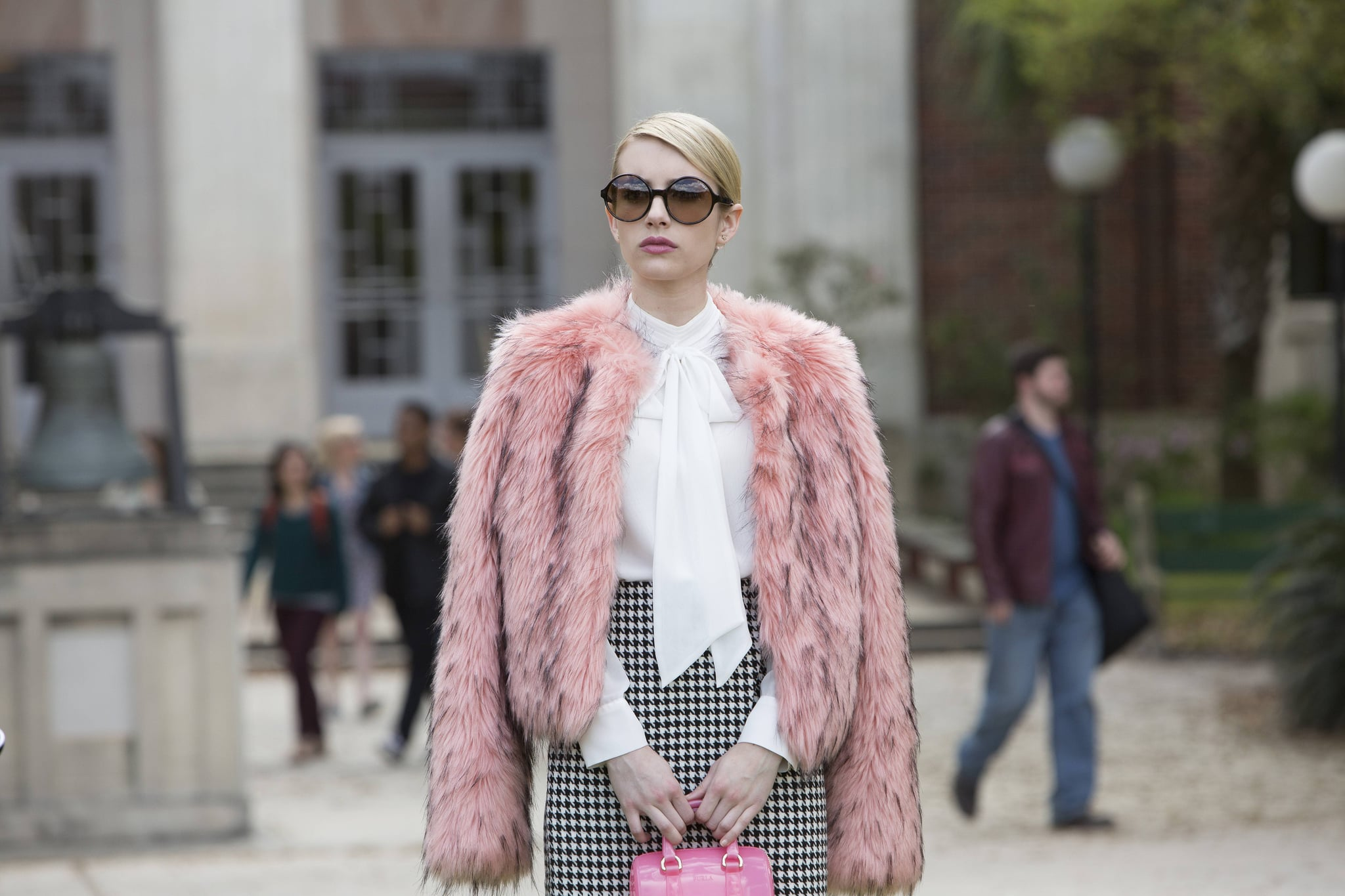 Inspiration Behind Emma Roberts S Scream Queens Character Popsugar Celebrity
