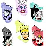 Disney Villains Teen Womens 6-Pack Sock Set