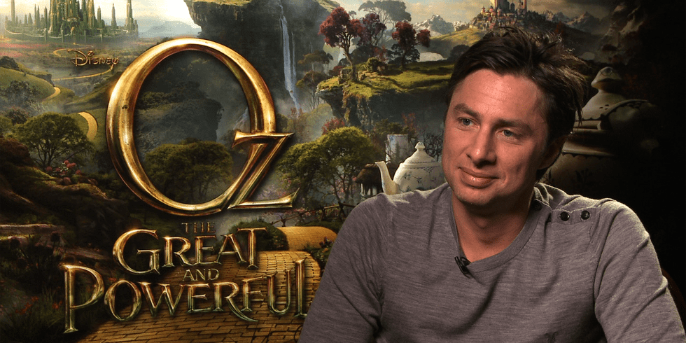"Zach Braff on Playing a ""Funny Little Monkey"" in Oz the Great and Powerful"