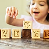 Personalized Wood Name Blocks Toy and Decor