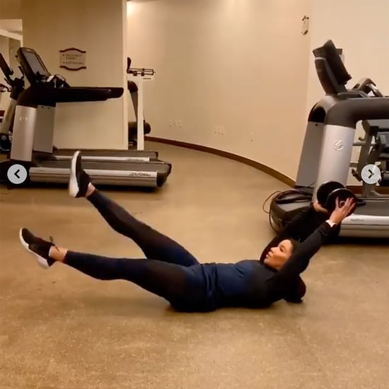 Jeanette Jenkins Total-Body Dumbbell and Cardio Workout