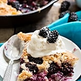 Easy Skillet Blackberry Cobbler