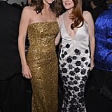 Jennifer Garner posed inside the event with Julianne Moore.